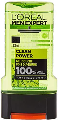 L'Oréal Men Expert Ultra-Clean Depuradora de gel de ducha para los hombres 300 ml