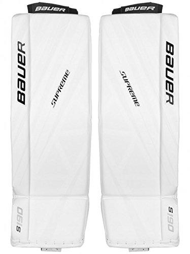Bauer Supreme S190 Goalie Schienen Senior, Größe:L, Farbe:Weiss