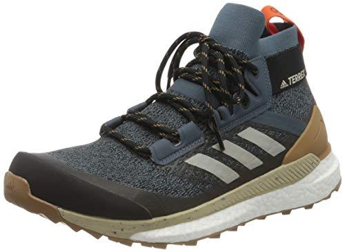 Adidas Herren TERREX FREE HIKER Walking-Schuh, Mehrfarbig (LEGBLU/METGRY/RAWDES), 43 1/3 EU