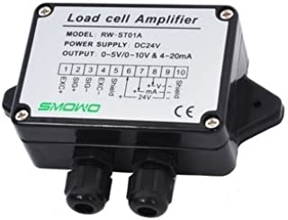 CGOLDENWALL RW-ST01A Load Cell Sensor Amplifier Transmitter Strain Gauge Amplifier Transducer Sensitivity 2.0mV/V±10% (Output Signal:0-10V)