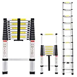 2020 Latest Design DIY Multi-Purpose Aluminium Telescopic Ladder Extension Extend - Portable Foldable (3.2M)