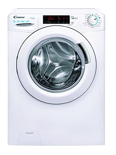 Candy Smart Inverter CSSQ410TWME/1-84 Waschmaschine / 10 kg/Smarte Bedienung mit NFC-Technologie per App-Steuerung/Easy Iron - Dampffunktion Weiß
