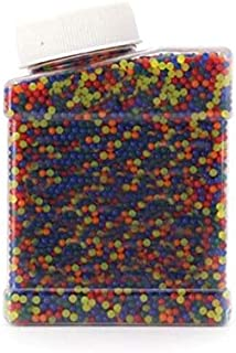 9mm Crystal Colored orbeez soft crystal water paintball 5000pcs gun bullet grow water beads grow balls water gun toy for childs gifts toy