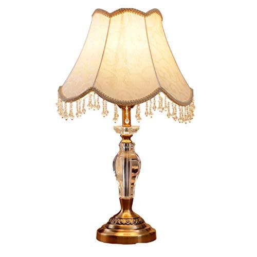 Nanyun bedlampje woonkamer tafellamp kristal creatieve decoratie tafellamp beker tafellamp (grootte: 29 x 59 cm)