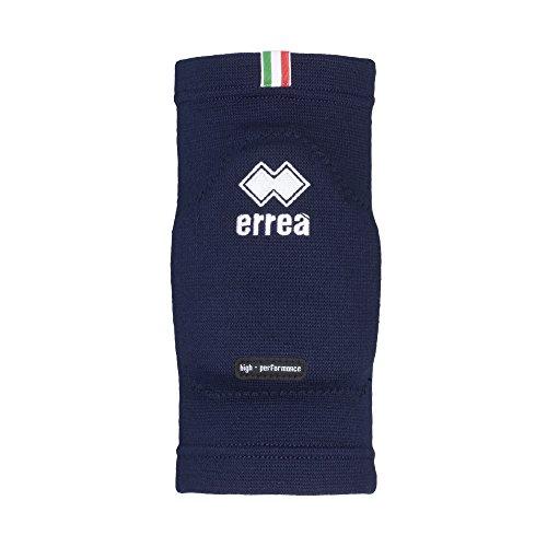 Errea Ginocchiere/protezione ufficiali della Nazionale Italiana Pallavolo, colore blu (XL)