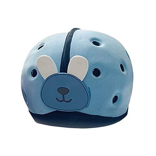 YJingMM Casco De Bebé para NiñOs Encantador Casco De Bebé Almohada De Seguridad De CojíN Anti-CaíDa Ajustable Blue,One Size