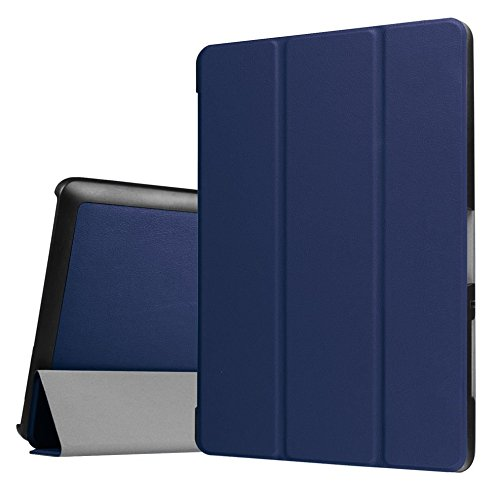 Tasche für Acer Iconia One Tab 10 B3-A30 / A3-A40 10.1 Zoll Schutz Hülle Flip Tablet Cover Hülle (Blau)
