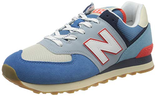 New Balance Herren 574v2 Sneaker, Blau (Blue SOS), 45 EU