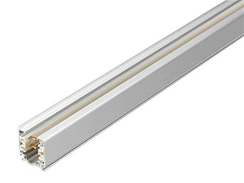 Global Nordic Aluminium Stromschiene, 1 Meter, silber