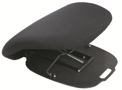AUTOOMIE ET BIEN - Cojín elevador hidráulico cómodo, ideal para silla, asiento, sofá para personas de edad y discapacidad, color negro