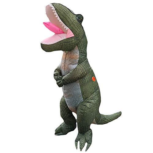 People-COS1 Erwachsene T REX Aufblasbare Kostüm Dinosaurier Kostüm Halloween Party Cosplay Kostüm für Frauen Männer Karneval Kostüm