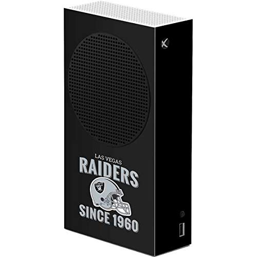 Skinit Decal Gaming Skin Compatible with Xbox Series S Console - Officially Licensed NFL Las Vegas Raiders Helmet Design