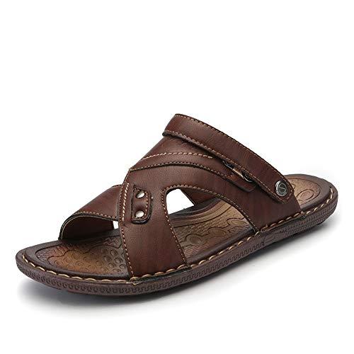 YLiansong-home Sandalias de Senderismo Sandalias Ajustables para Hombres/Mujeres cómodos Deportes al Aire Libre Zapatos de Senderismo Sandalia al Aire Libre (Color : Brown, Size : 39)