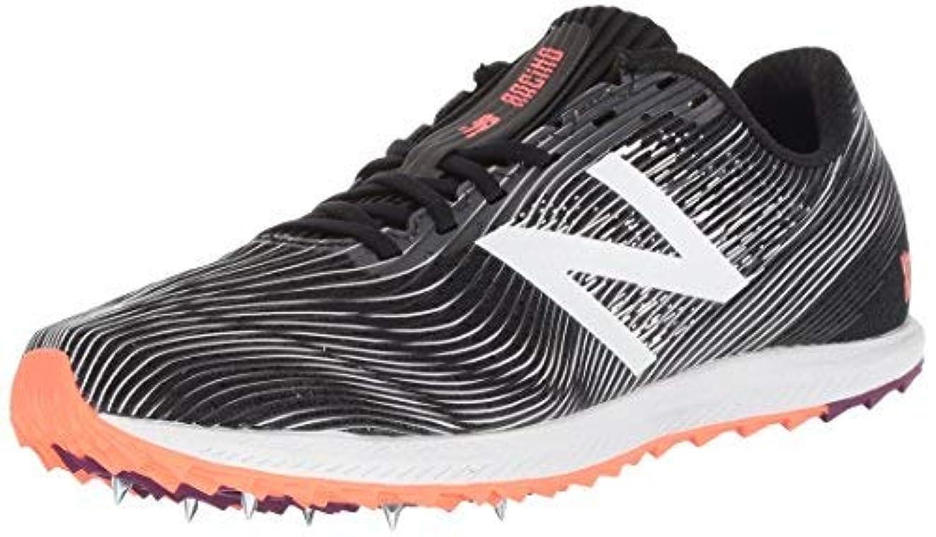 納税者ヒゲ多数のNew Balance Women's 7v1 Cross Country Running Shoe Black/Black 11 B US [並行輸入品]