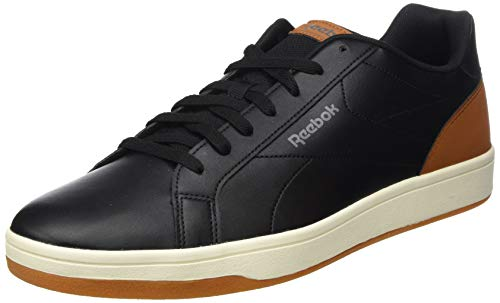 Reebok Royal Complete CLN, Zapatillas de Tenis para Hombre, Multicolor (Black/Brown/Aloy/Chalk/Gu 000), 44.5 EU