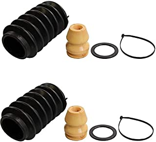 Pair Set of 2 Rear KYB Suspension Strut Bumpers and Bellows Kit For BMW Chevrolet Nissan Dodge Ford Hyundai Infiniti Mazda Nissan Toyota