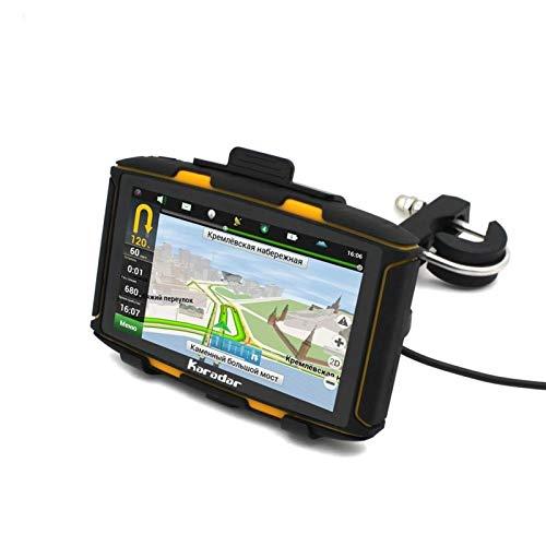 Motocicleta de navegación GPS de navegación por satélite GPS Moto más Nuevo RAM512 Android Resistente al Agua IPX7 WiFi Bluetooth 4.0 GOOGLEPLAY Tienda Karadar GPS for Moto