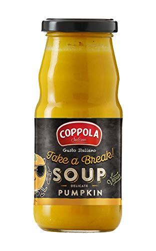 Coppola ¡Take a break! Sopa con Calabaza, Zanahoria y Cúrcuma - sin azúcar añadida 350g (Caja de 6)