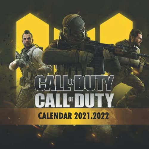 Call of Duty: 2021 – 2022 Games Calendar – 18 months – 8.5x8.5 High Quality Images