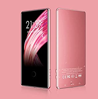 AKDSteel Touch ScreenMP3 Mp4 Player 8G 16G Sports 3.6 Inch Screen HD Lossless Music Player 8GB Rose Gold in High Sound Qua...