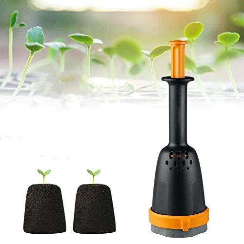 Plantador de bloques de suelo manual para macizo de flores, creador de...