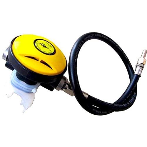 TOSSPER 1pc Buceo Snorkel Tubo De Snorkel Equipo De Buceo Reductor De Presión Herramienta Natación Submarino Secundario Regulador