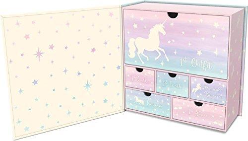 Lady Jayne Baby's First Memory Keepsake Box (Magical Memories Unicorn)