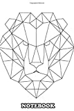 Notebook: Lion 2 Black , Journal for Writing, College Ruled Size 6' x 9', 110 Pages