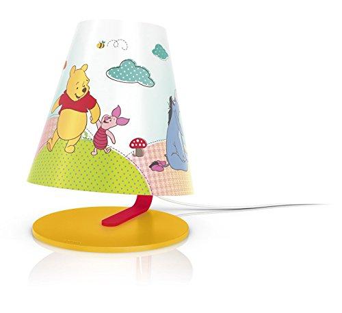Philips Disney Lampe de table pour enfant Winnie l'ourson 1 x 4 W LED intégrée