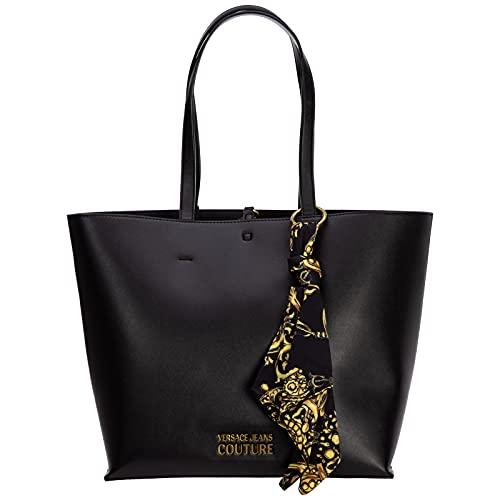 Versace Jeans Couture borsa a spalla donna nero
