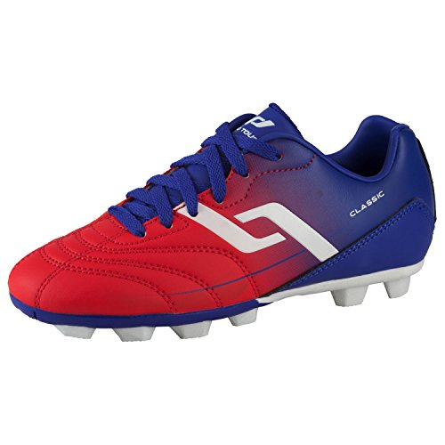 Pro Touch Unisex-Kinder Classic Hg Jr. Fußballschuhe, Blau (Blue/RED Light 907), 38 EU