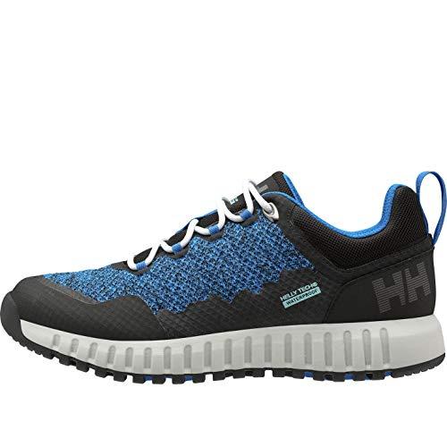 Helly Hansen Vanir Hegira HT, Zapatillas de Senderismo Hombre, Azul (Electric Blue/Black/Nimbus Cloud/Glacier Blue 639), 42.5 EU