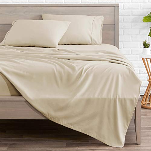Bare Home Queen Sheet Set - 1800 Ultra-Soft Microfiber Bed Sheets - Double Brushed Breathable...