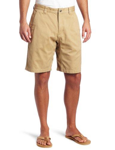 Mountain Khakis Men's Teton Twill Short Relaxed Fit, Retro Khaki, 36