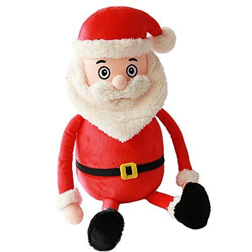 CPFYZH Jultomten ren gosedjur gosedjur älg snögubbe 30 cm