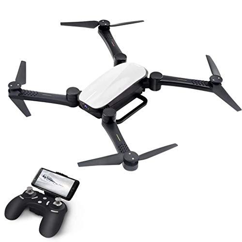 ASMART Drone 2.4G resistencia a la caída de presión de aire fija plegable UAV aérea cámara sin cabeza de modo de un botón Volver Real-Time Fotografía aérea avión que vuela Juguetes Juguetes al aire li
