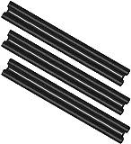 com-four 3X Joints Portes - Isolation phonique Porte - Boudin de Porte Double - Protection Contre Les Courants d'air et Le Bruit - 86 cm (003 pièces)