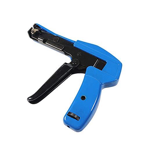 LXB Pistola de sujeción de Cables Electriduct, Herramienta de Corte y sujeción de Bridas con tensión Ajustable para Bridas de Nailon, para Bridas de Nailon Ancho: 2,4-4,8 mm