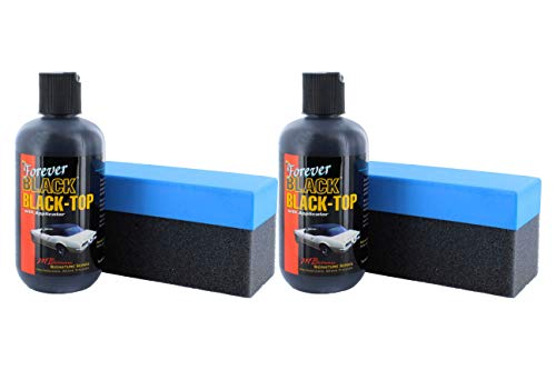 Forever Car Care Products FB813 BLACK Black Top Gel and Foam Applicator (2 PACK)
