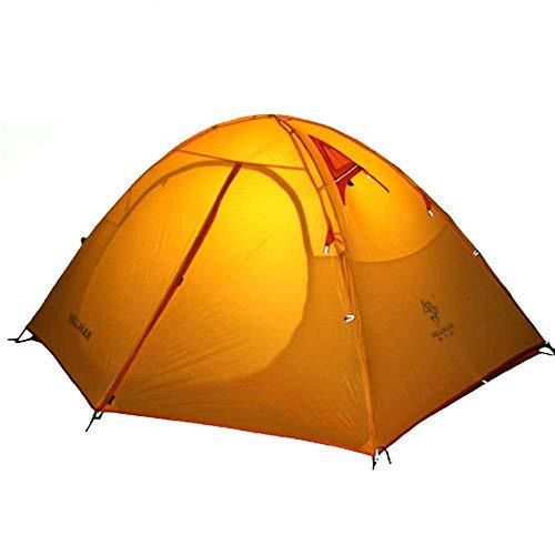FGDSA Tenda Zaino da Campeggio per Famiglia Tenda da Campeggio Leggera per Sport all'Aria Aperta Spiaggia da Viaggio per Pesca con Lo Zaino (Colore: Blu, Taglia: Taglia Unica)