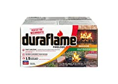 Lights quickly – full flames in less than 5 minutes that last over 1.5 hours Use in an indoor, open hearth fireplace or outdoor fireplace or fire pit Burns 80% cleaner than wood Chimney Safety Institute of America Accepted Product UL approved safety ...