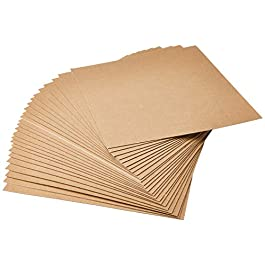 """Grafix Medium Weight Acid-Free 0.057"""" Chipboard Sheets, Create Three-Dimensional Embellishments for Cards, Papercrafts…"""