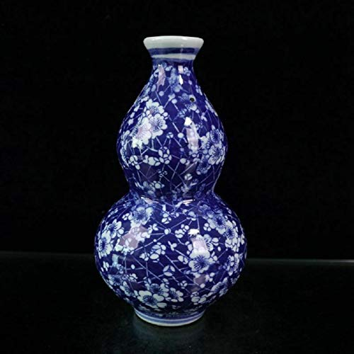 Chinese Handmade Vintage Blue and white porcelain Plum blossom Vase