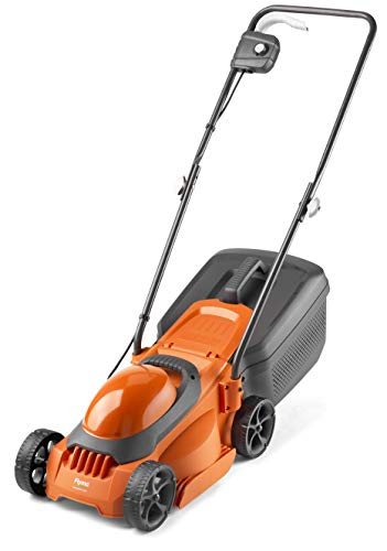 Flymo SimpliMow 300 Electric Rotary Lawn Mower - 1000 W Motor, 30 cm Cutting Width, 30 Litre Grass Box, Close Edge Cutting, Comfortable to Manoeuvre, Foldable Handles