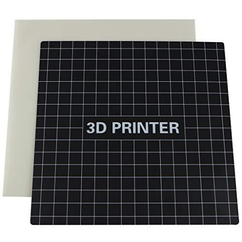 ILS - 235 * 235 mm platform verwarmde bed sticker + hittebestendige plaat kit voor Ender-3 3D-printeronderdelen