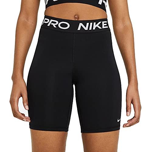 Nike Womens Pro 365 Shorts, Black/White, M