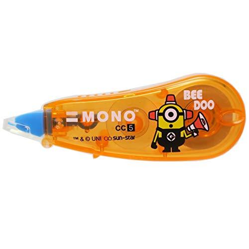 サンスター文具 デザインコレクション ミニオン MONO モノ CC 修正テープ オレンジ