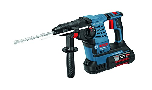 Bosch Professional Perforateur Sans Fil SDS Plus GBH 36 V-LI (36 V, Force de frappe : 3,2 J, sans batterie)