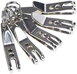 Barhunkft TM 1pcs Mini EDC Gear Pocket Suspension Clip Hanger Tool Key Ring Keychain Parts product image
