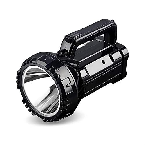 WGHH Linterna Potente antorcha Recargable Llor de búsqueda Super Brillante al Aire Libre multifunción Flashlight portátil